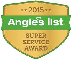 2015 Angie's List Super Service Award Recipient