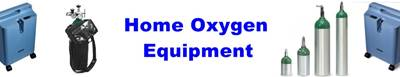 Home Oxygen Equipment