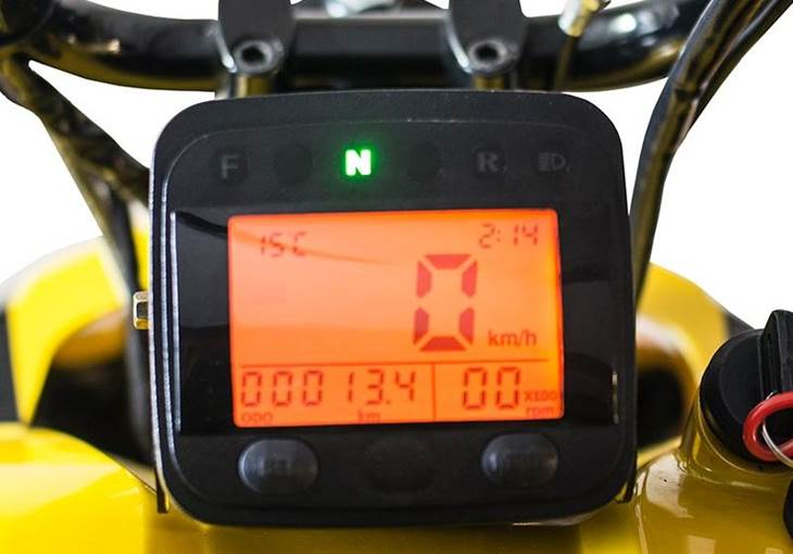 Irbis snowmobile digital display MN