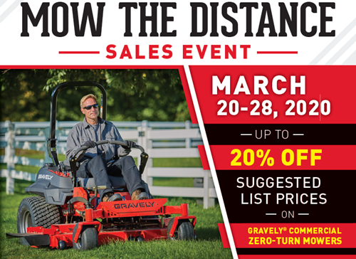 Gravely Mow The Distance 2020