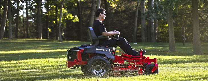 Shop Gravely Mowers Today!