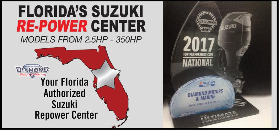 Suzuki Outboards For Sale | New Smyrna Beach, FL | Marine Dealer