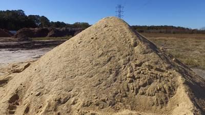 Sand Tidewater Mulch & Material Chesapeake, VA (757) 436-0149