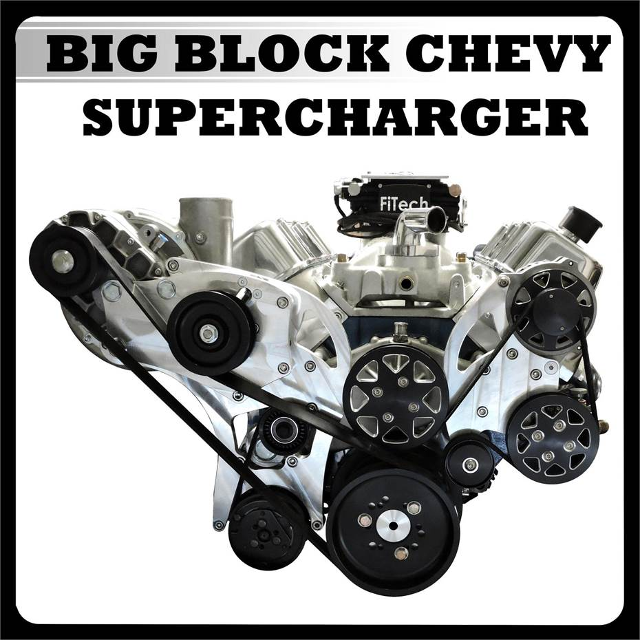 Big Block Chevy Supercharger Button