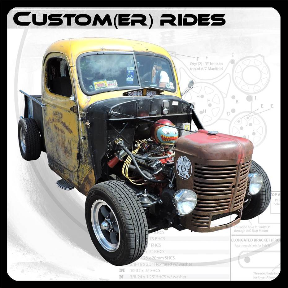Catalog Cover - Custom(er) Rides