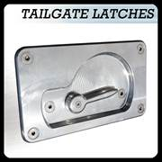 Tailgate Latch Assembly Button