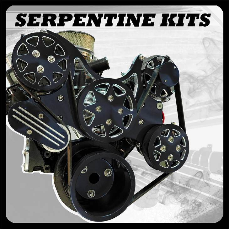 Serpentine kits Catalog Photo Image Cover Black