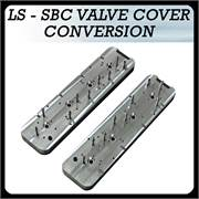 LS to SBC Valve Cover Conversion Button
