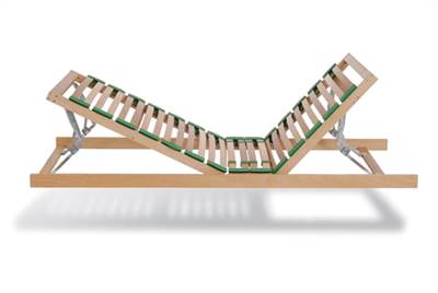 KR13 (2 section) Manual Lit and Latch Sleep Platform