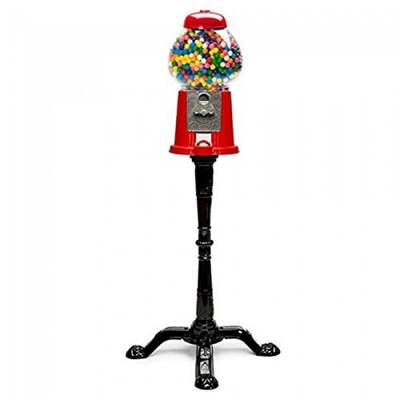 king-carousel-gumball-machine-w-stand-457