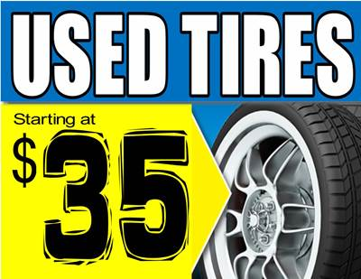 USED TIRES 35