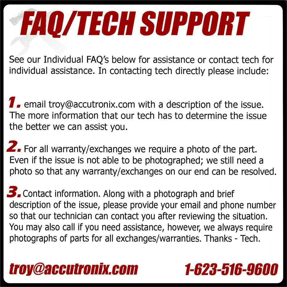 Tech Support Introduction