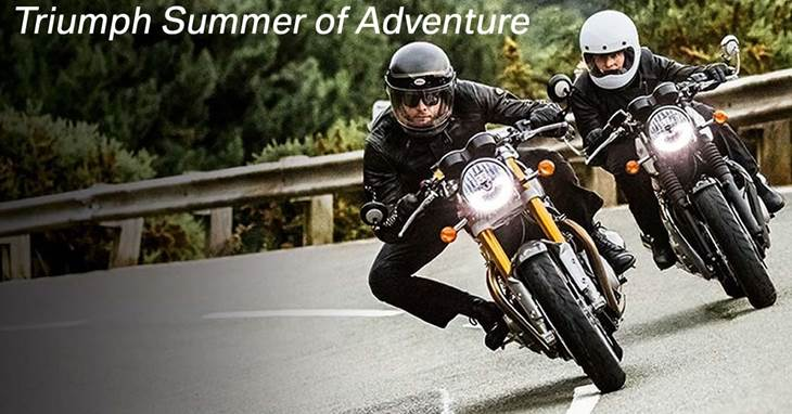 Triumph Summer of Adventure