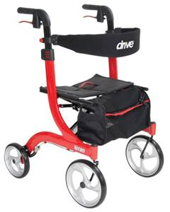 Drive Nitro Rollator with Seat