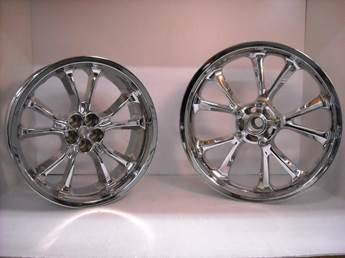 Gold Wing Chrome Wheels for 2018 GL1800