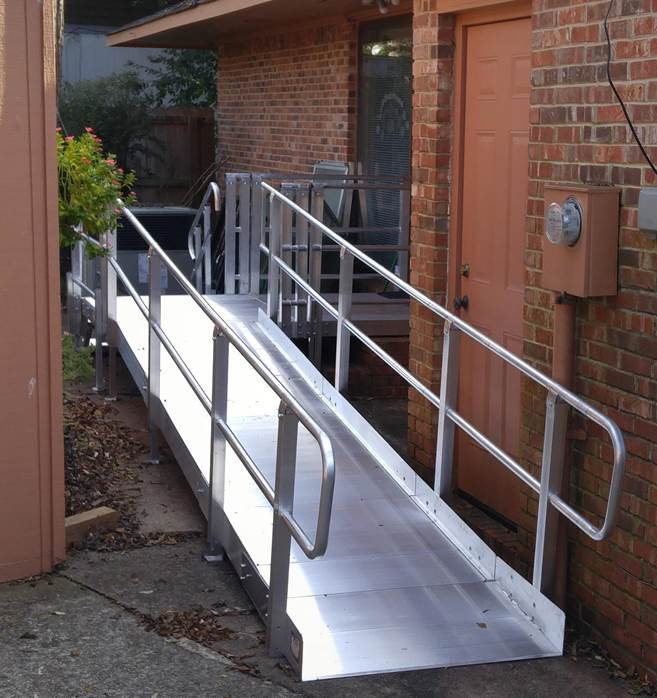 Wheelchair and Accessibility Ramp