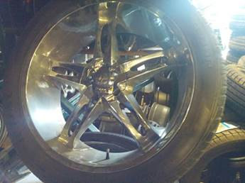 Vision Wheel 24 Inch Chrome For Sale In Toronto On Rim And Tire