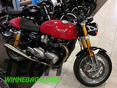 2016 Triumph Thruxton 1200R Red Oshkosh WI