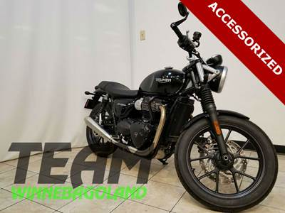 Custom 2017 Triumph Street Twin For Sale Oshkosh WI
