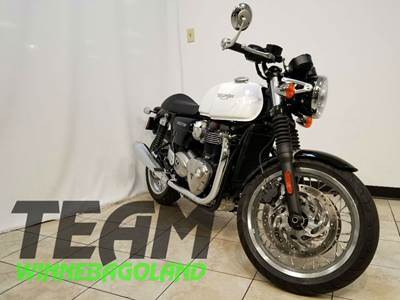 New 2016 Triumph Thruxton 1200 For Sale Oshkosh WI