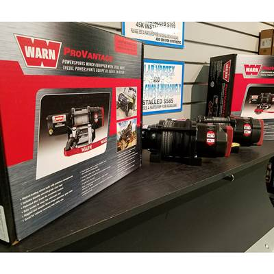 Warn Winch ATV Black Friday Deal