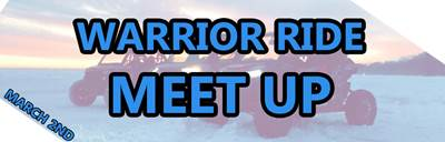 Warrior Ride Meet Up Information