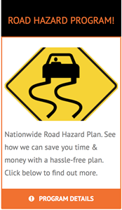 Road Hazard Widget