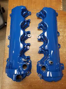 VALVE COVERS FORD BLUE