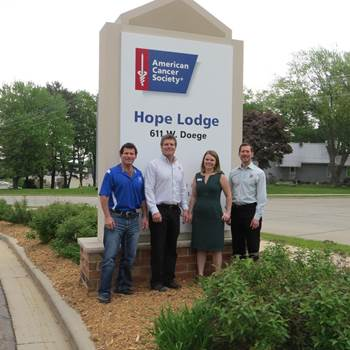 Hope Lodge Ribbon Cutting Picture