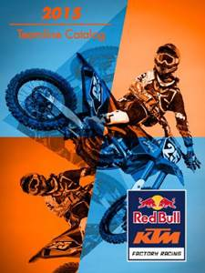 2015 Red Bull KTM Factory Racing Teamline Catalog