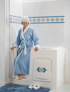 Best Bath Walk-In Blue Robe Model