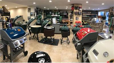 panoramic of grills