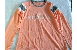 Kubota Ladies Orange T- Shirt