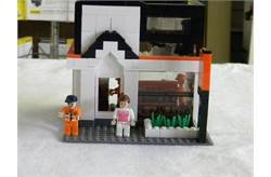 Kubota Dealership Building Blocks Set