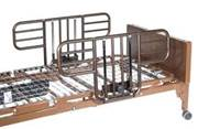 Hospital Bed With Half Rail