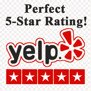 Yelp Perfect 5 Star