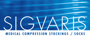 compression stockings by Sigvaris