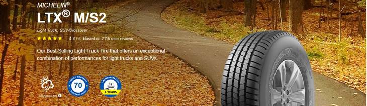 Michelin LTX ms2 benefits