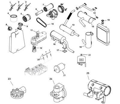 Toro Dingo Engine & Fuel System Parts Diagram TopLine Equipment of ...