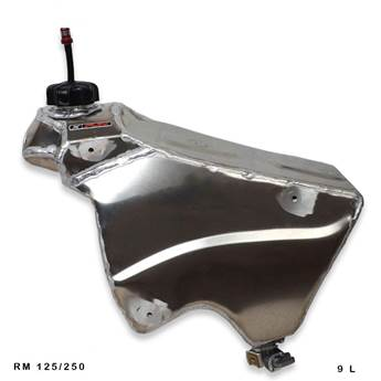 2001-2008 Suzuki RM125/250 Aluminum Fuel Tank for sale in Driggs, ID on golf cart decals stripes, golf cart relay, golf cart rear brakes, golf cart brake shoes, golf cart bucket seats, golf cart brake pedal, golf cart engine, golf cart roof, golf cart brake cables, golf cart emergency brake, golf cart front brakes, golf cart mower deck, golf cart alternator, golf cart motor mounts, golf cart replacement seats, golf cart motor swap, golf cart voltage regulator,