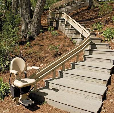 Stair Lift - Outdoor