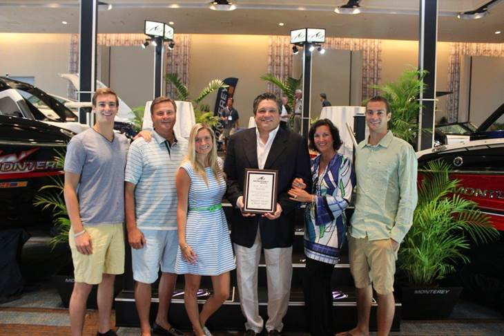 CSI Award Photo - Basset Yachts