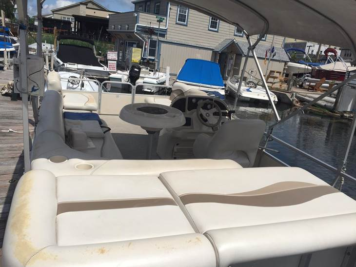 Mahopac Marine - Pontoon Rental