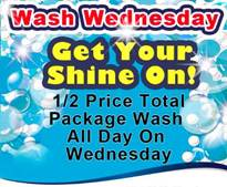 Northside Auto Spa Wash Wednesday Car Wash Special