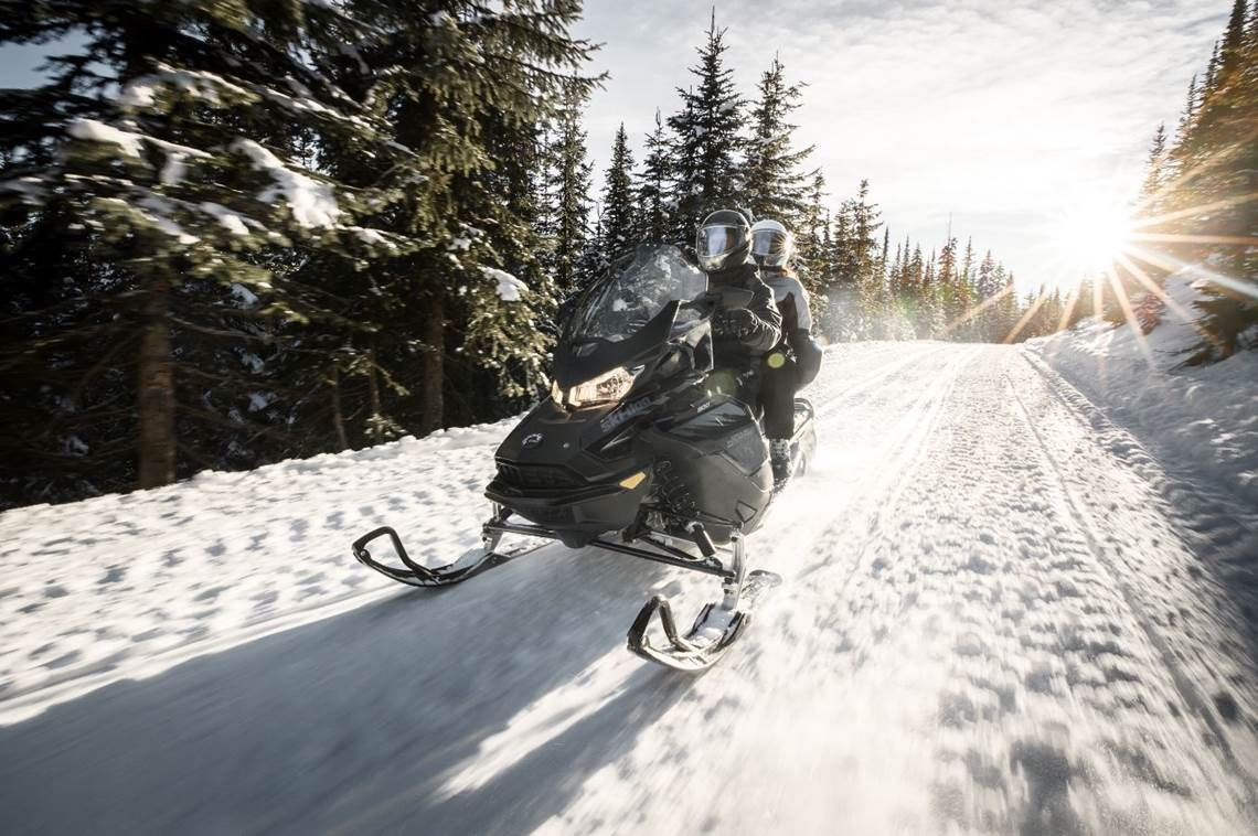 2019 Grand Touring Sport Snowmobile Action