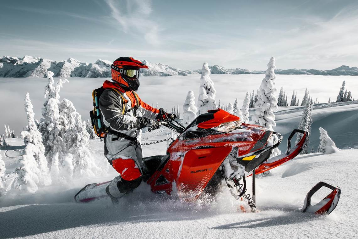 Ski-Doo Summit in Anchorage, AK