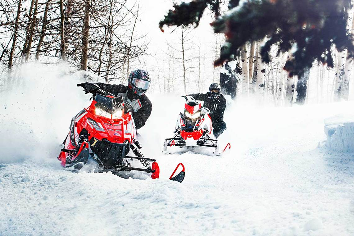 Polaris Snowmobiles in Detroit Lakes, MN