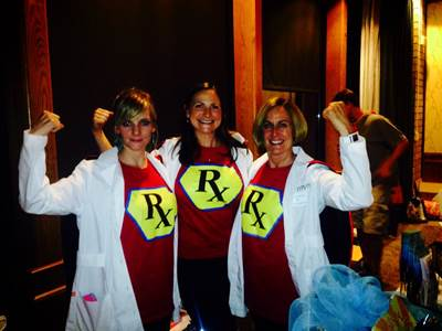 Superhero Pharmacy Staff at Tabletop Expo