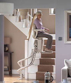 Curved Indoor Stair Lifts