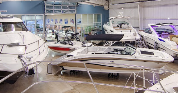 Dealer for Sea Ray Boats, Boston Whaler Boats, Yamaha Jet Boats, and